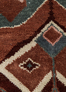artisan-originals-dark-amber-gold-seaside-blue-rug1082980