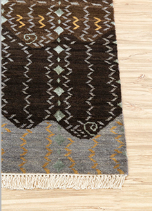 artisan-originals-medium-gray-dark-brown-rug1083988