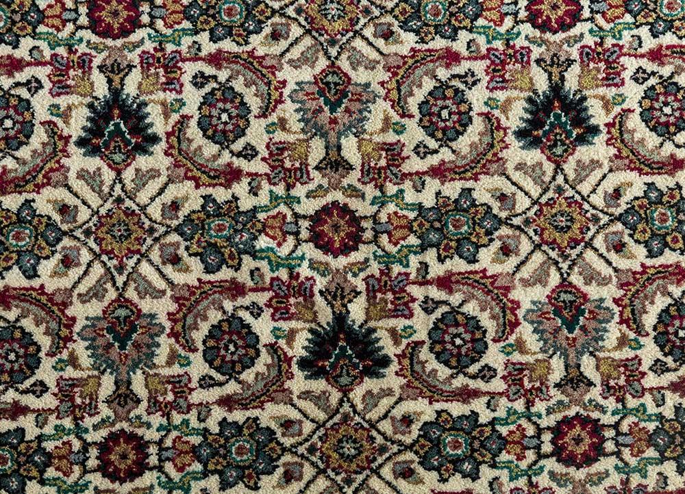 Jaipur Rugs Hand Knotted Wool Ivory Skwl 30 Area Rug Rug1101083