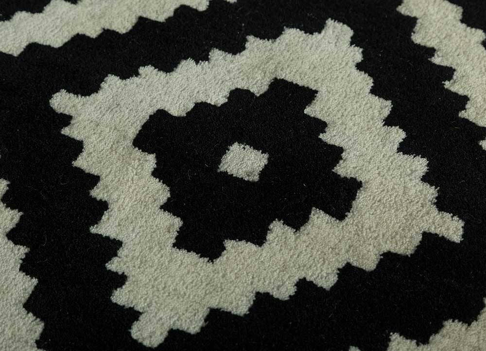 Jaipur Rugs Hand Tufted Wool Grey And Black Tra 13167 Area Rug Rug1112793