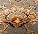 Jaipur Rugs - Hand Knotted Wool and Silk Green QNQ-44 Area Rug Closeupshot - RUG1017942