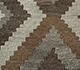 Jaipur Rugs - Flat Weave Wool Beige and Brown AFDW-11 Area Rug Closeupshot - RUG1091028