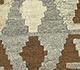 Jaipur Rugs - Flat Weaves Wool Beige and Brown AFDW-13 Area Rug Closeupshot - RUG1091026