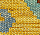 Jaipur Rugs - Flat Weaves Wool Blue AFDW-169 Area Rug Closeupshot - RUG1090842