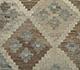 Jaipur Rugs - Flat Weave Wool Beige and Brown AFDW-185 Area Rug Closeupshot - RUG1091032