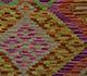 Jaipur Rugs - Flat Weave Wool Red and Orange AFDW-59 Area Rug Closeupshot - RUG1090983