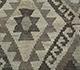 Jaipur Rugs - Flat Weave Wool Ivory AFDW-78 Area Rug Closeupshot - RUG1090964