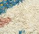 Jaipur Rugs - Hand Knotted Wool Ivory AFKW-128 Area Rug Closeupshot - RUG1091712