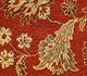 Jaipur Rugs - Hand Knotted Wool Red and Orange BT-58 Area Rug Closeupshot - RUG1025249