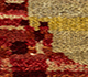 Jaipur Rugs - Hand Knotted Wool and Bamboo Silk Gold CX-2818 Area Rug Closeupshot - RUG1084325