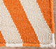 Jaipur Rugs - Flat Weaves Wool Red and Orange DW-112 Area Rug Closeupshot - RUG1101334