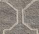Jaipur Rugs - Flat Weave Wool Grey and Black DW-119 Area Rug Closeupshot - RUG1032807