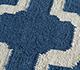 Jaipur Rugs - Flat Weaves Wool Blue DW-138 Area Rug Closeupshot - RUG1101800