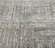 Jaipur Rugs - Hand Knotted Wool and Bamboo Silk Grey and Black ESK-472 Area Rug Closeupshot - RUG1053780