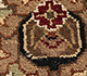 Jaipur Rugs - Hand Knotted Wool Beige and Brown JC-102 Area Rug Closeupshot - RUG1024398
