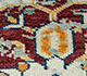 Jaipur Rugs - Hand Knotted Wool Ivory LCA-65 Area Rug Closeupshot - RUG1101184