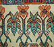 Jaipur Rugs - Hand Knotted Wool and Bamboo Silk Ivory LES-230 Area Rug Closeupshot - RUG1077889