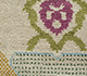 Jaipur Rugs - Hand Knotted Wool & Bamboo Silk Ivory LES-356 Area Rug Closeupshot - RUG1088667