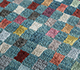 Jaipur Rugs - Hand Knotted Wool and Bamboo Silk Blue LES-473 Area Rug Closeupshot - RUG1093213