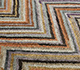 Jaipur Rugs - Hand Knotted Wool and Bamboo Silk Beige and Brown LES-484 Area Rug Closeupshot - RUG1093574