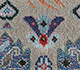 Jaipur Rugs - Hand Knotted Wool and Bamboo Silk Grey and Black LES-487 Area Rug Closeupshot - RUG1093559