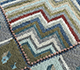 Jaipur Rugs - Hand Knotted Wool and Bamboo Silk Blue LES-494 Area Rug Closeupshot - RUG1093914