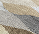 Jaipur Rugs - Hand Knotted Wool and Bamboo Silk Grey and Black LES-500 Area Rug Closeupshot - RUG1093911