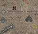 Jaipur Rugs - Hand Knotted Wool and Bamboo Silk Ivory LES-716 Area Rug Closeupshot - RUG1106961