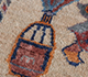 Jaipur Rugs - Hand Knotted Wool and Bamboo Silk Beige and Brown LES-741 Area Rug Closeupshot - RUG1108566