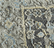Jaipur Rugs - Hand Knotted Wool and Silk Grey and Black LRS-06 Area Rug Closeupshot - RUG1098084