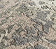 Jaipur Rugs - Hand Knotted Wool and Silk Grey and Black LRS-07 Area Rug Closeupshot - RUG1090219