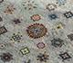 Jaipur Rugs - Hand Knotted Silk Grey and Black LSL-309 Area Rug Closeupshot - RUG1092463