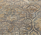 Jaipur Rugs - Hand Knotted Wool and Silk Grey and Black NE-2348 Area Rug Closeupshot - RUG1083761