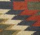 Jaipur Rugs - Flat Weaves Jute Red and Orange PDJT-114 Area Rug Closeupshot - RUG1107055