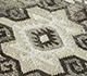 Jaipur Rugs - Flat Weave Wool and Viscose Beige and Brown PDWV-78 Area Rug Closeupshot - RUG1098539