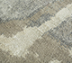 Jaipur Rugs - Hand Knotted Wool and Silk Beige and Brown PKWS-486 Area Rug Closeupshot - RUG1110922