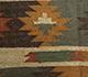 Jaipur Rugs - Flat Weave Jute Red and Orange PX-2109 Area Rug Closeupshot - RUG1091586