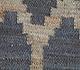 Jaipur Rugs - Flat Weave Jute Blue PX-2124 Area Rug Closeupshot - RUG1101272