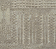 Jaipur Rugs - Hand Knotted Wool and Silk Grey and Black QM-716 Area Rug Closeupshot - RUG1069858