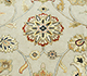 Jaipur Rugs - Hand Knotted Wool and Silk Ivory QNQ-03 Area Rug Closeupshot - RUG1034463