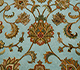 Jaipur Rugs - Hand Knotted Wool and Silk Blue QNQ-06 Area Rug Closeupshot - RUG1055607