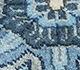 Jaipur Rugs - Hand Knotted Wool and Silk Blue QNQ-10(CM-01) Area Rug Closeupshot - RUG1061815