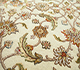 Jaipur Rugs - Hand Knotted Wool and Silk Ivory QNQ-41 Area Rug Closeupshot - RUG1023397