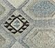 Jaipur Rugs - Flat Weave Wool and Viscose Beige and Brown SDWV-101 Area Rug Closeupshot - RUG1100275