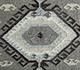 Jaipur Rugs - Flat Weave Wool and Viscose Ivory SDWV-102 Area Rug Closeupshot - RUG1099780