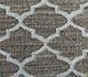 Jaipur Rugs - Flat Weave Wool and Viscose Beige and Brown SDWV-11 Area Rug Closeupshot - RUG1100286