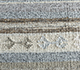 Jaipur Rugs - Flat Weave Wool and Viscose Blue SDWV-114 Area Rug Closeupshot - RUG1099782