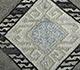 Jaipur Rugs - Flat Weave Wool and Viscose Ivory SDWV-12 Area Rug Closeupshot - RUG1099784