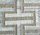 Jaipur Rugs - Flat Weave Wool and Viscose Beige and Brown SDWV-125 Area Rug Closeupshot - RUG1100290