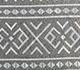 Jaipur Rugs - Flat Weave Wool and Viscose Beige and Brown SDWV-171 Area Rug Closeupshot - RUG1099854